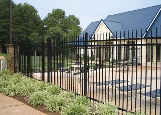 Pool Fencing and 3 Rails Safety Fences With Materail Steel Or Aluminum