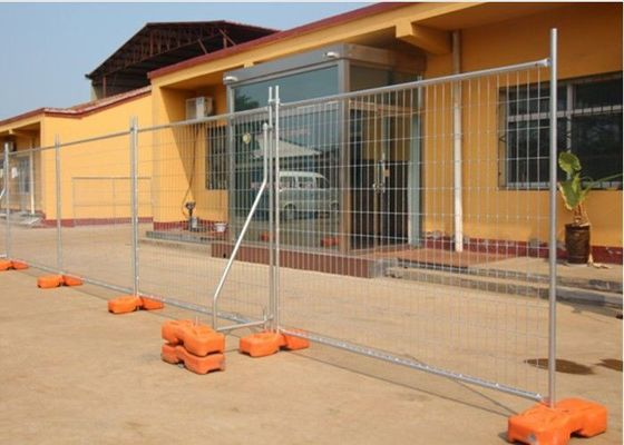 China PVC Coated Temporary Mesh Fence   Galvanized Wire Construction Site Fencing with best price factory