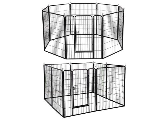 China Modular Outdoor Metal Dog Kennel Heavy Duty Large Exercise Pet Playpen factory