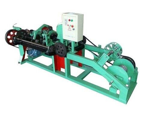 China Automatic Barbed Wire Making Machine , Wire Mesh Welding Machine 2.2KW Motor factory