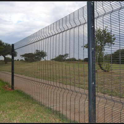 High Security Welded Mesh Fence Galvanized Wire Fence Panels Easily Assembled