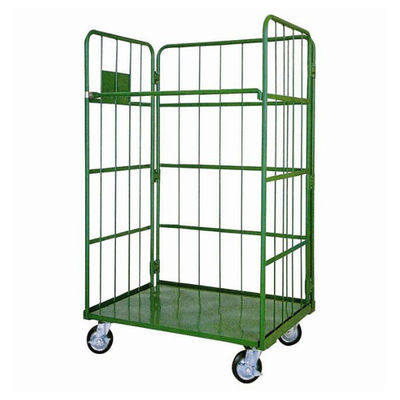 China Hand Trolley Heavy Duty Logistic Warehouse Roll Container with 4 Wheels factory