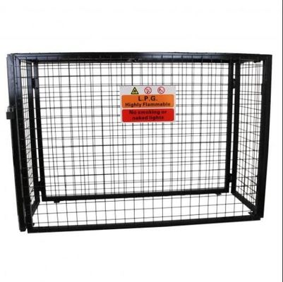 Galvanized Steel Wire Gas Bottle Mesh Cage 920mm*1000mm*500mm For UK Market