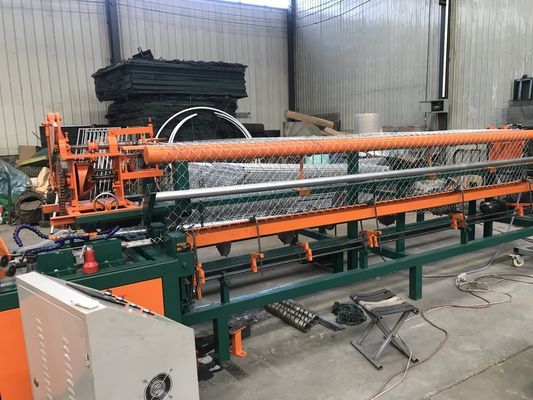 India Best Automatic Double Wire Chain Link Fence Making Machine