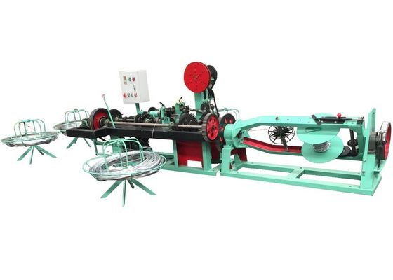 China Commom Twist Barbed Wire Machine With Automatic Electrol Control System factory