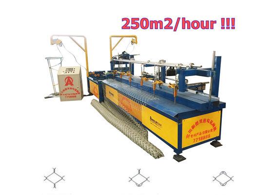 New Types Baochuan Fully Automatic Chain Link Machine For 2-6m Width