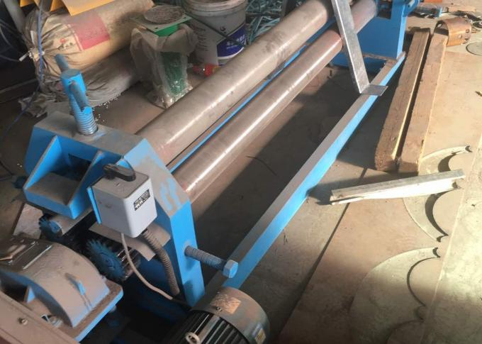 High Efficient Crimped Wire Mesh Machine 2.5 M Width For Wire Screen