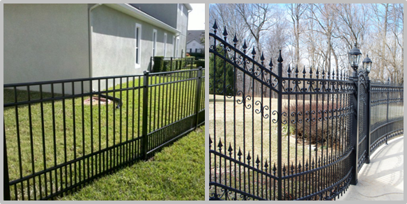 Easily Assembled Black Steel Fence Black Metal For Traffic Safety Anti Corrosion
