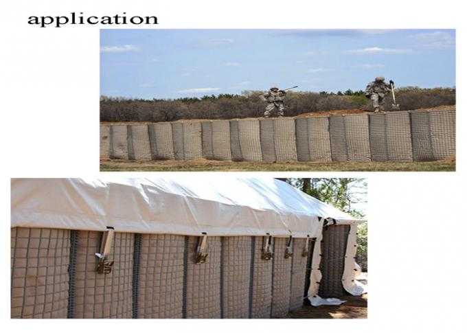 Defence Blast Wall For Militay Use Farming Hesco Barrier  Used In Separate Cell