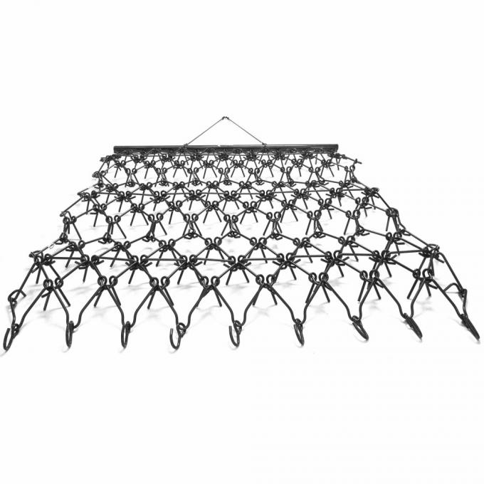 Titan 7' X 8' Black Steel Fence Drag Section Harrows 10.8mm Wire Thickness