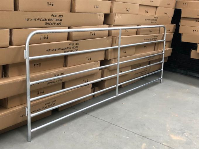 Hot Dipped Galvanized Sheep Fence Panels Portable Metal Corral