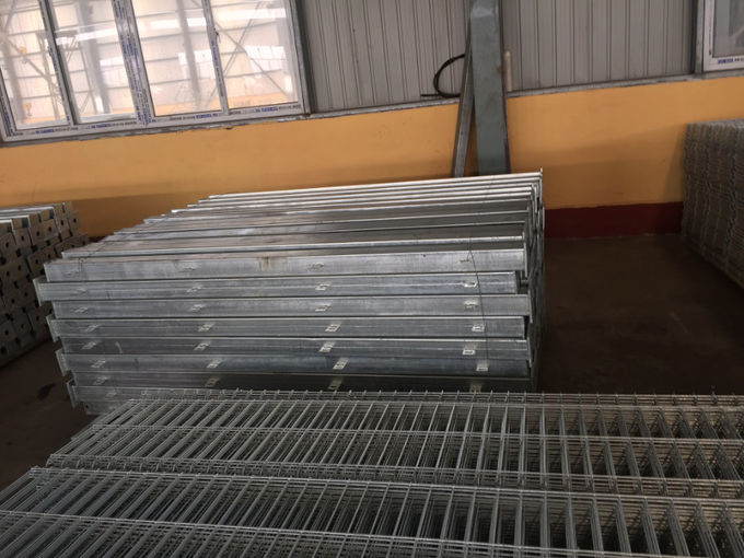 High Security Welded Mesh Fence For Highway , Railway , Sporting , Garden