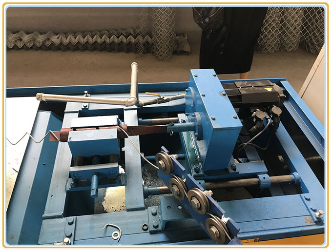 Fully Automatic Single Wire Chain Link Fence Making Machine Diamond Shape Mesh