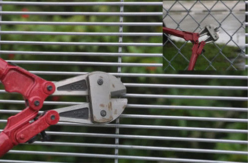 Powder Coated Welded Mesh Fence Anti Climb Welded Wire Fence Panels